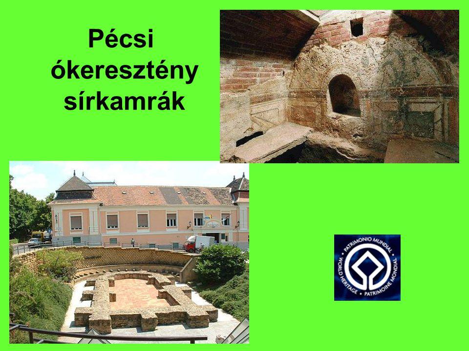Pécsi ókeresztény sírkamrák