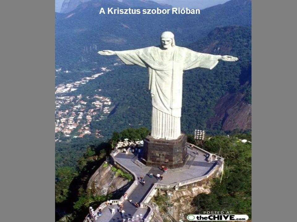 A Krisztus szobor Rióban