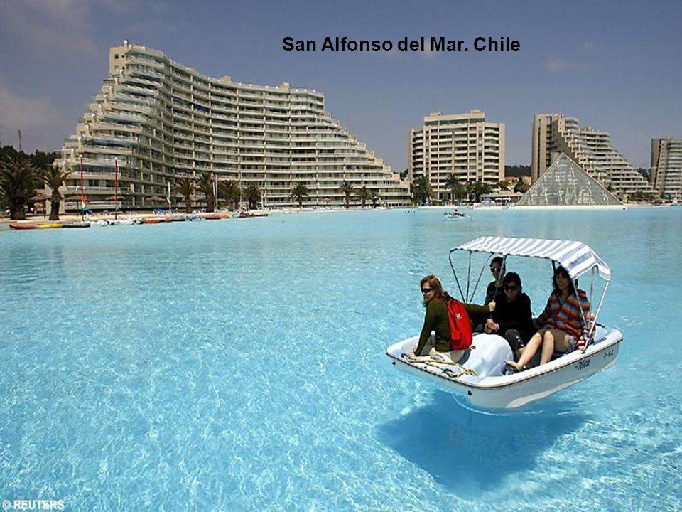 San Alfonso del Mar. Chile