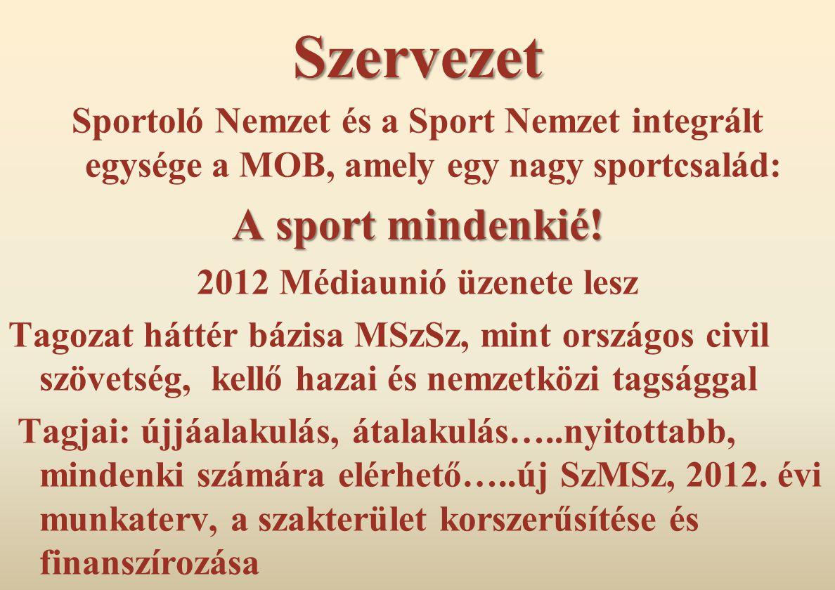 2012 Médiaunió üzenete lesz