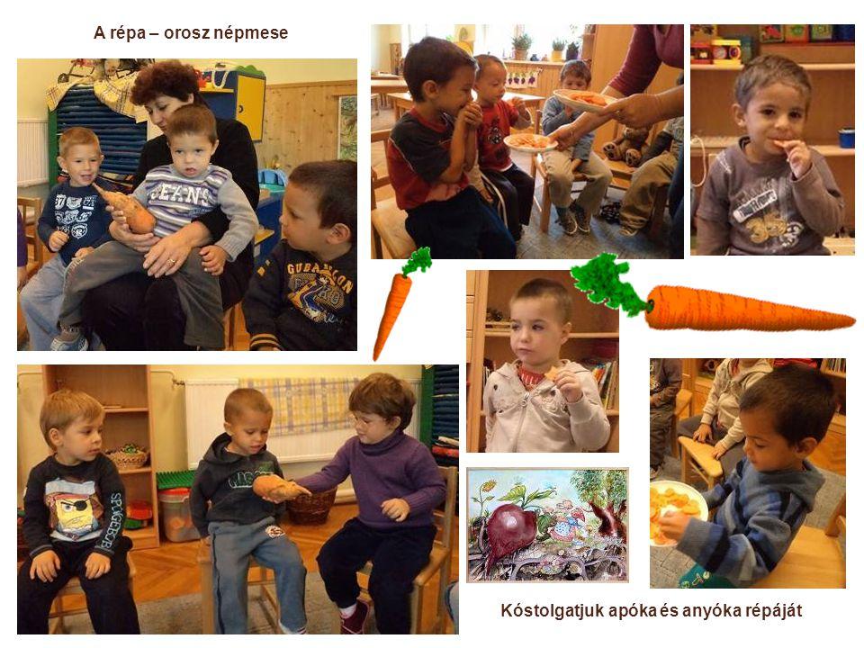 A répa – orosz népmese Kóstolgatjuk apóka és anyóka répáját