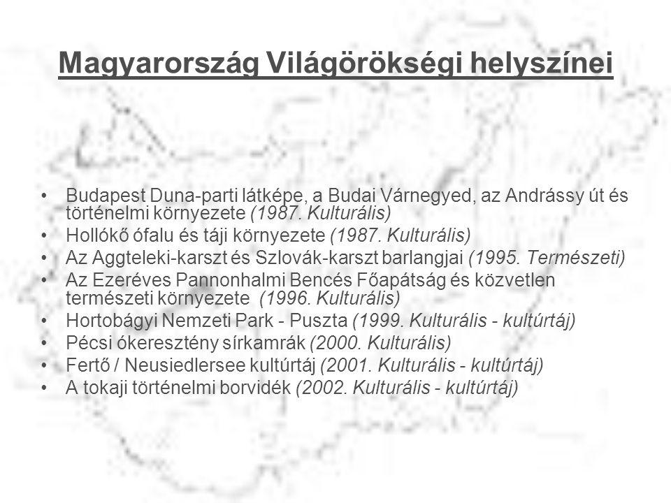 Magyarország Világörökségi helyszínei
