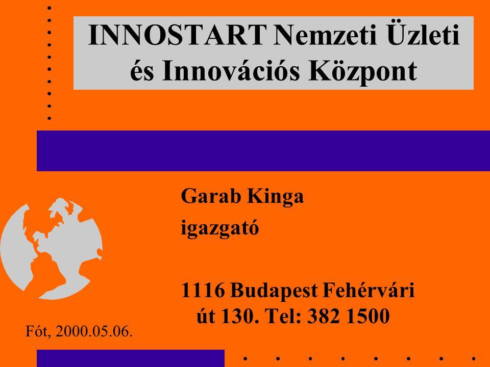 INNOSTART Nemzeti Üzleti és Innovációs Központ