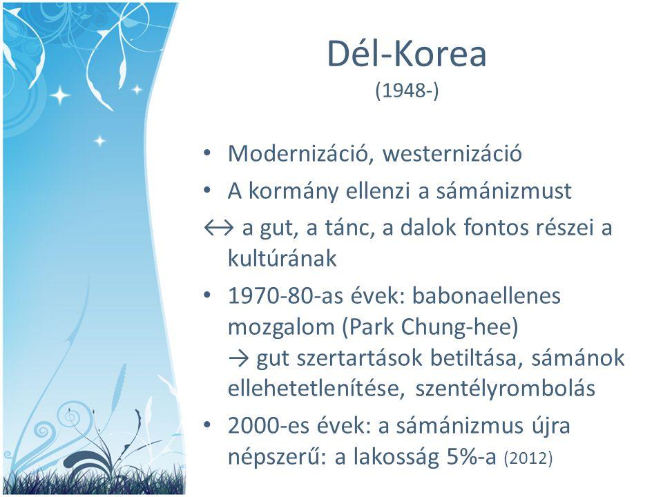 Dél-Korea (1948-) Modernizáció, westernizáció