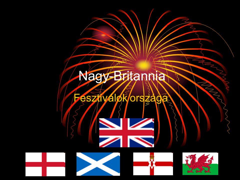 Nagy-Britannia Fesztiválok országa
