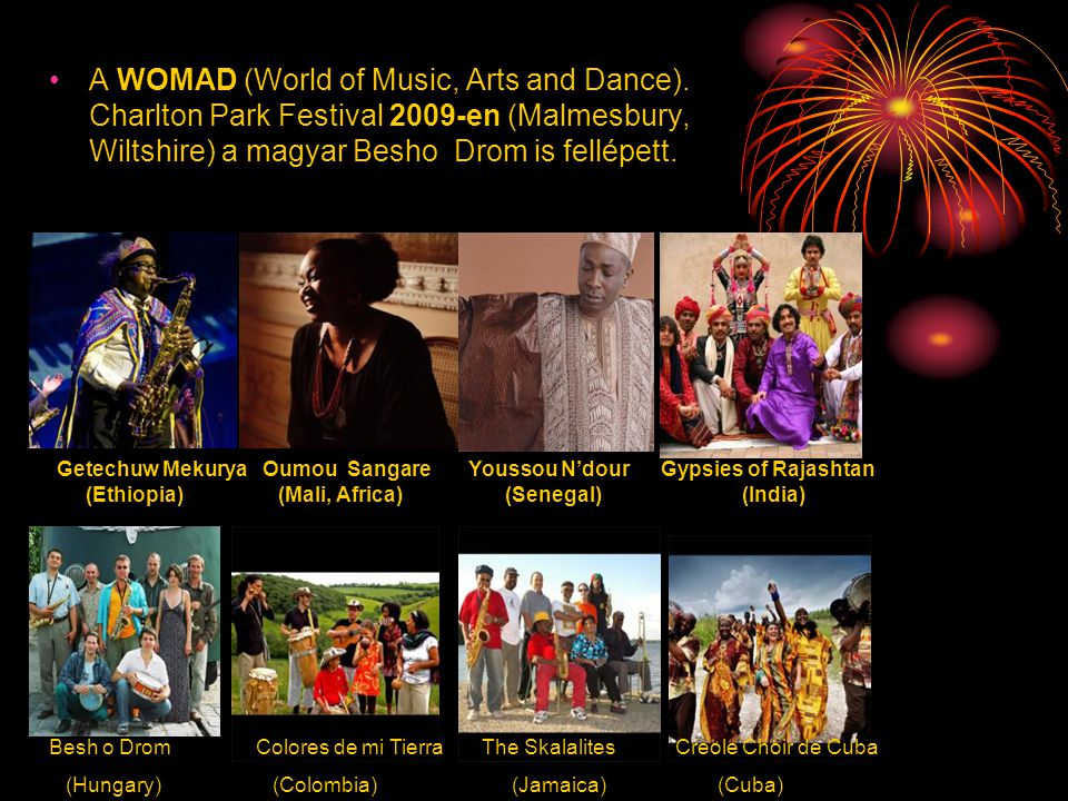 A WOMAD (World of Music, Arts and Dance)