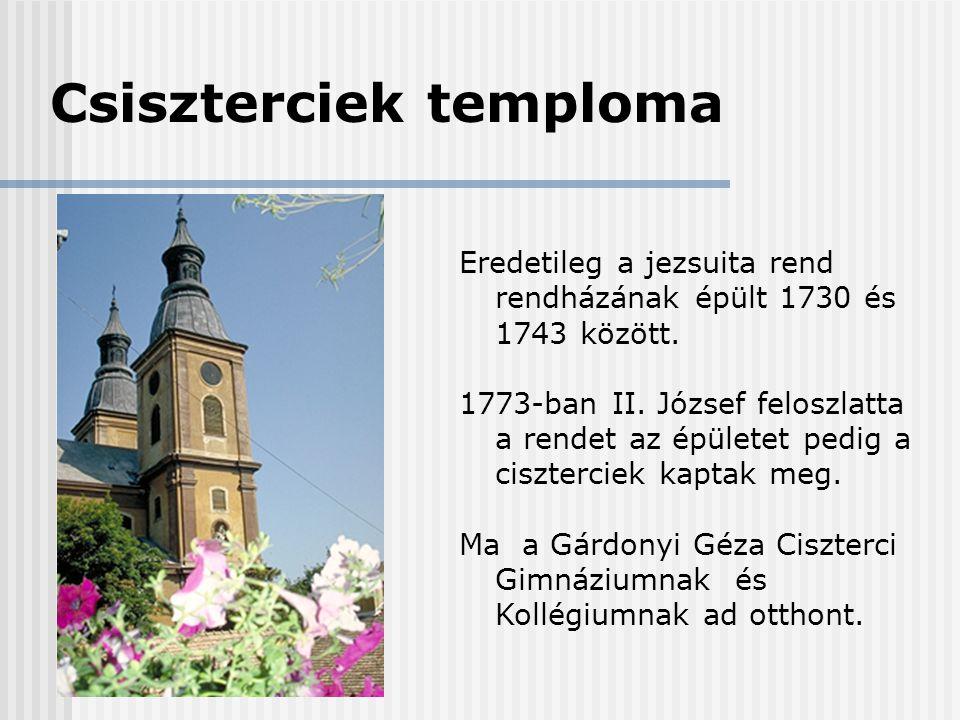Csiszterciek temploma