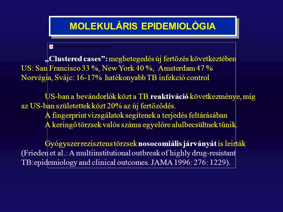 MOLEKULÁRIS EPIDEMIOLÓGIA