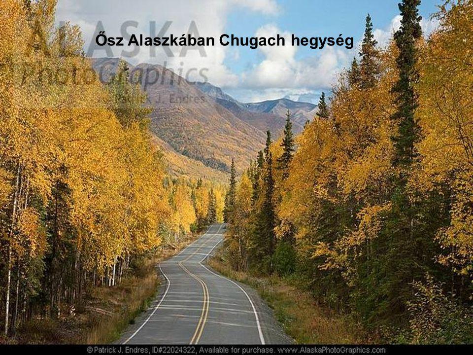 Ősz Alaszkában Chugach hegység