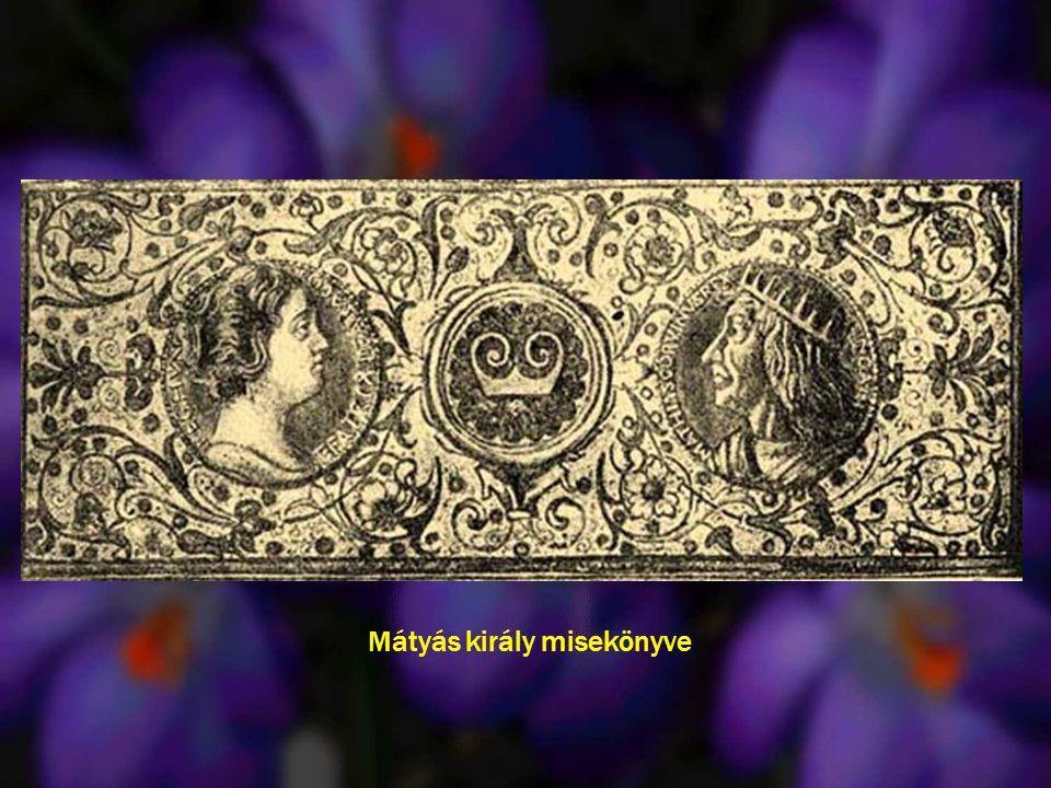 Mátyás király misekönyve