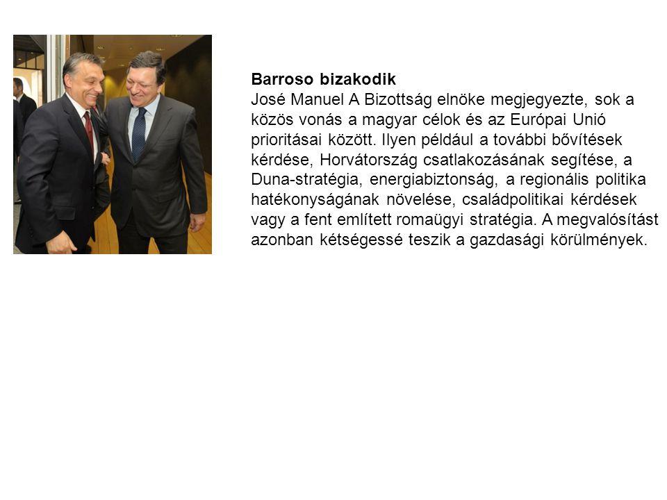 Barroso bizakodik
