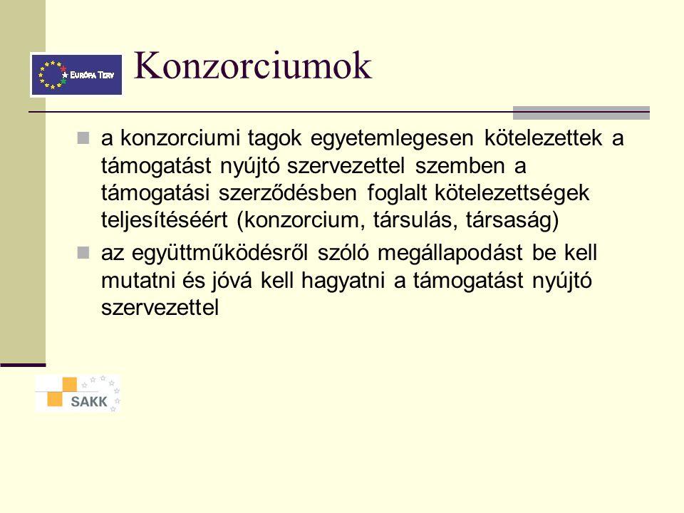 Konzorciumok