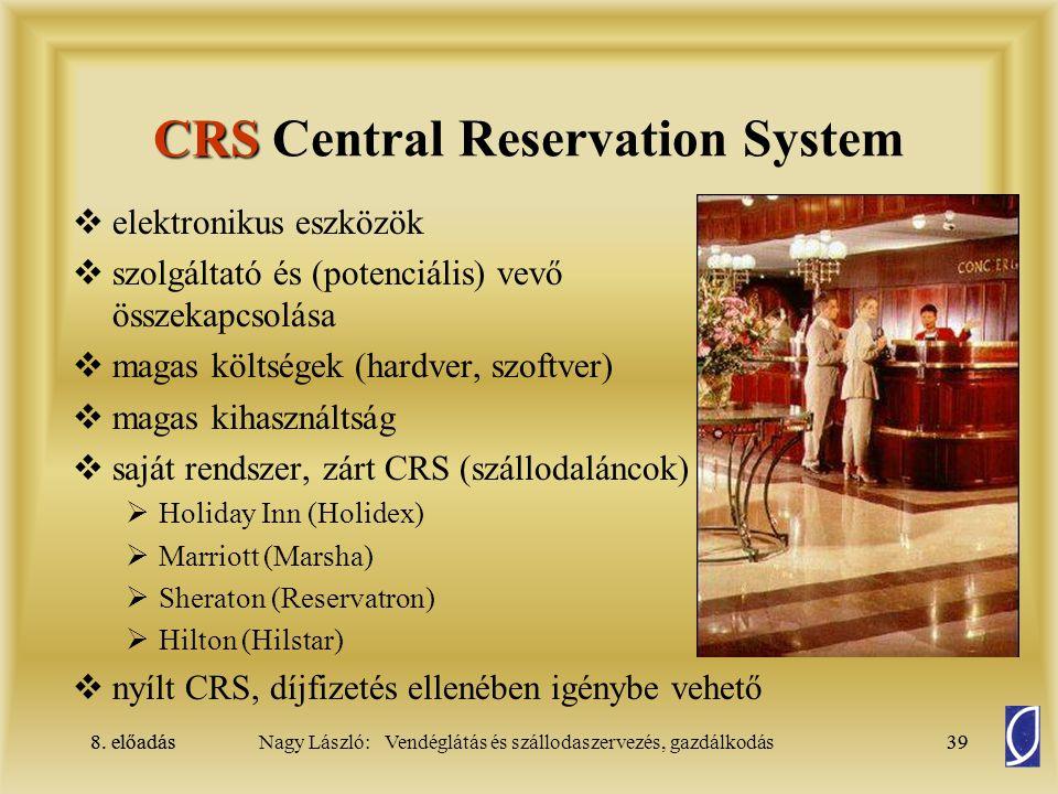 CRS Central Reservation System