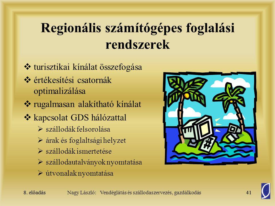 Regionális számítógépes foglalási rendszerek