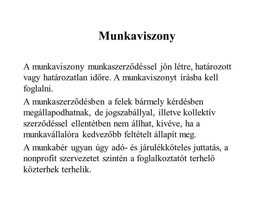 Munkaviszony