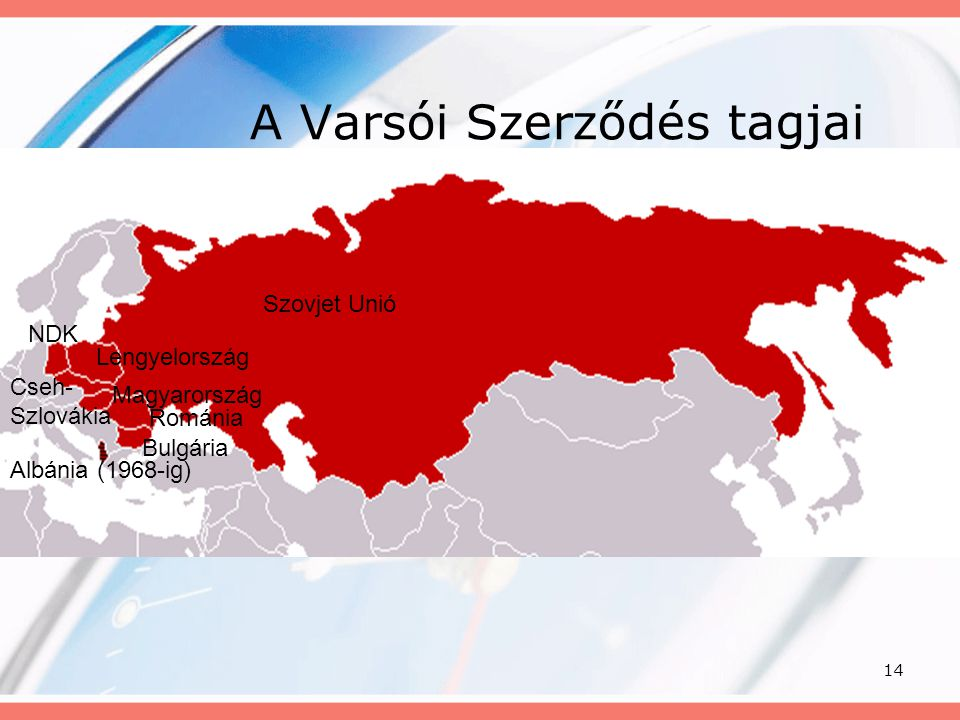 A Varsói Szerződés tagjai