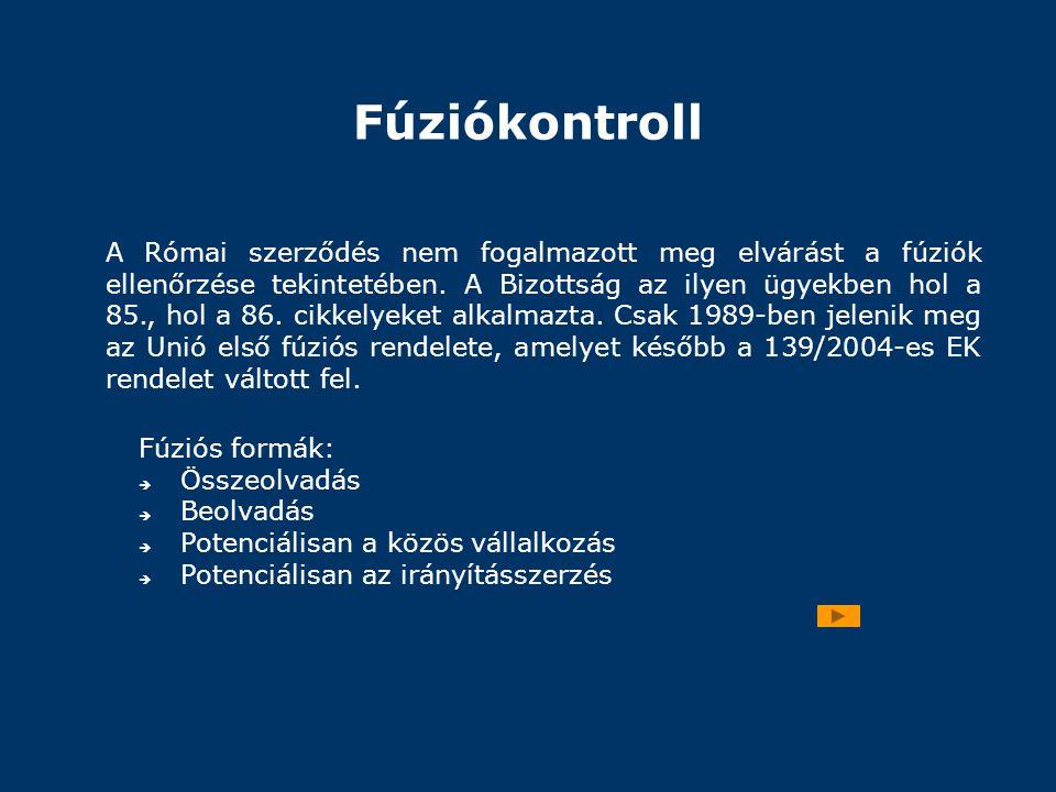 Fúziókontroll