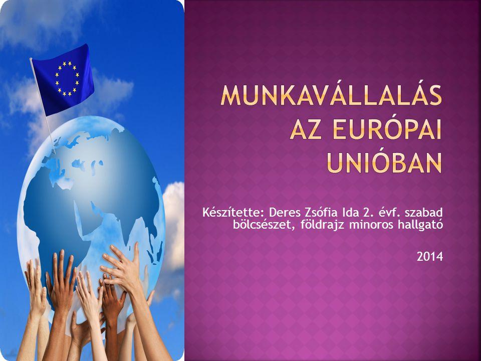 Munkavállalás az Európai Unióban