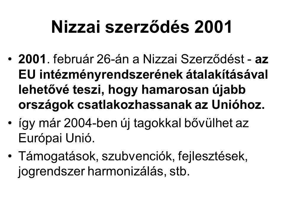 Nizzai szerződés 2001