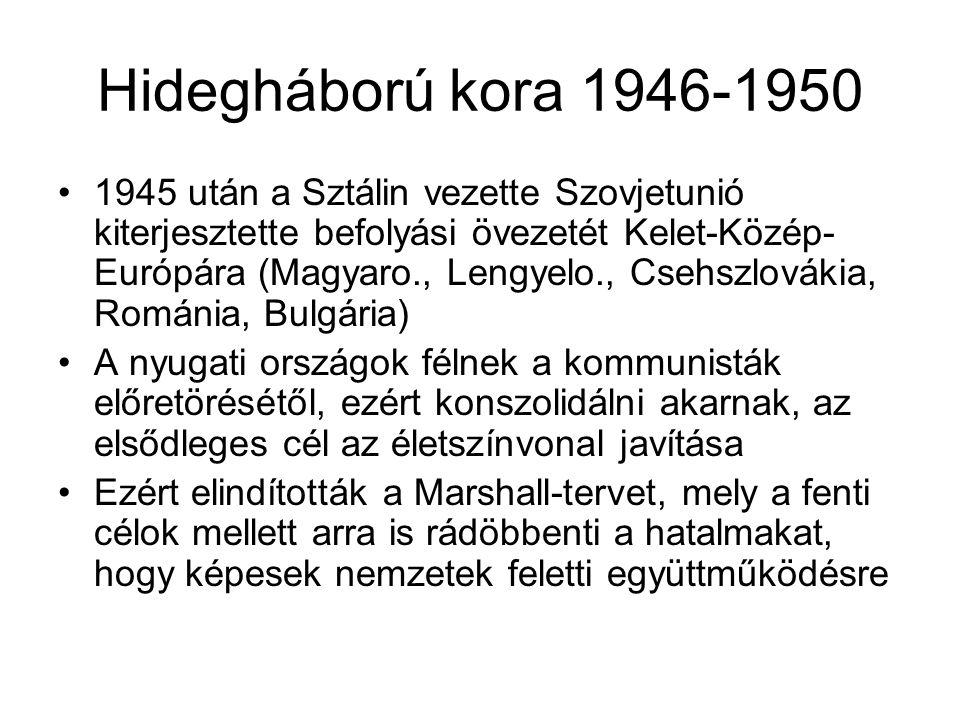 Hidegháború kora 1946-1950