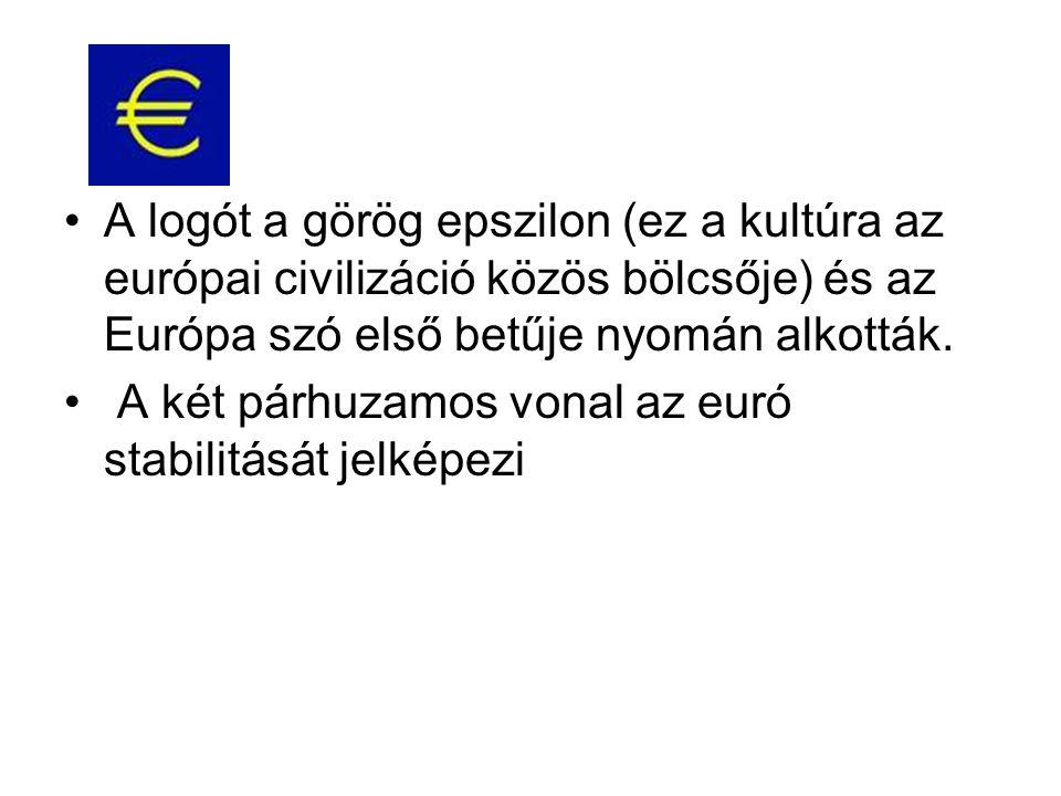 A logót a görög epszilon (ez a kultúra az európai civilizáció közös bölcsője) és az Európa szó első betűje nyomán alkották.