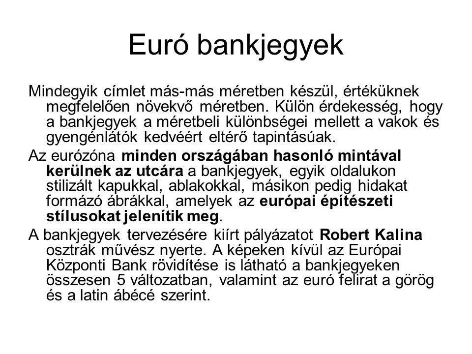 Euró bankjegyek