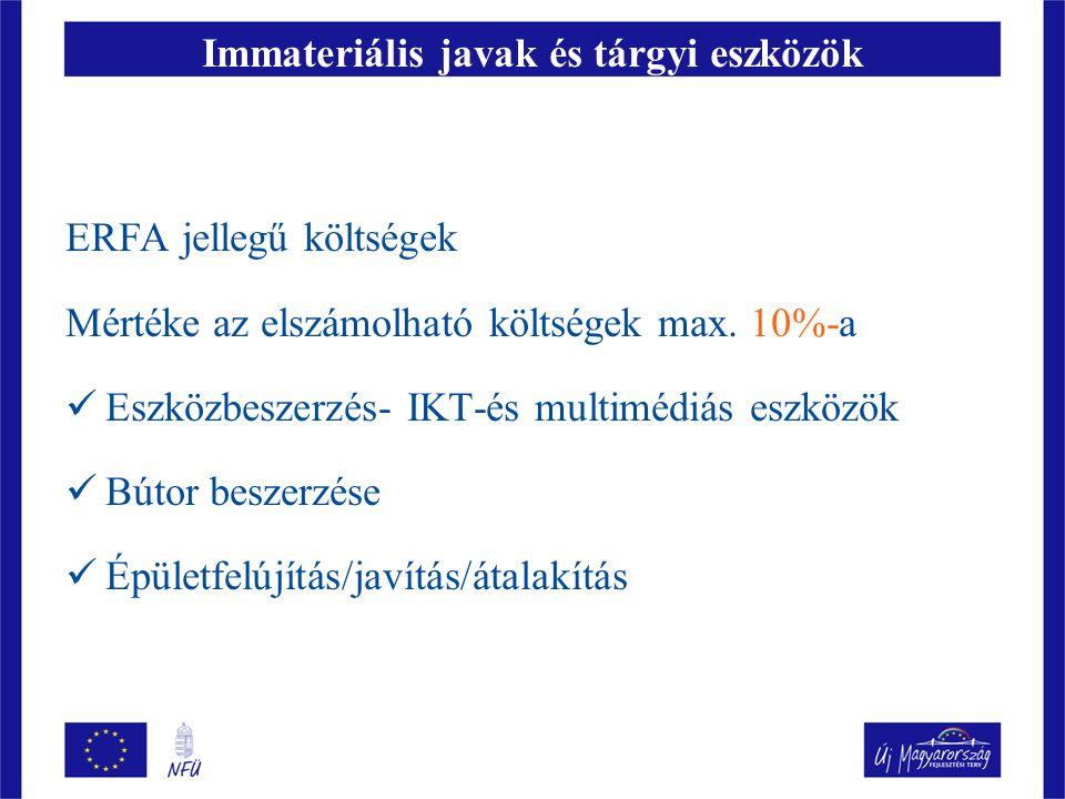 Immateriális javak és tárgyi eszközök
