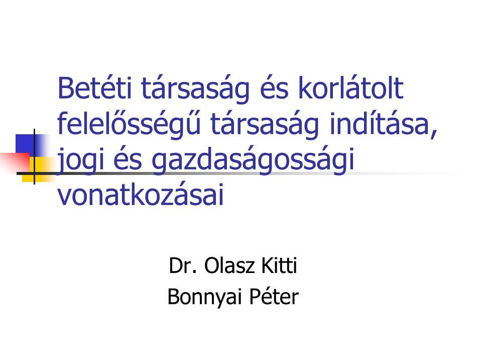 Dr. Olasz Kitti Bonnyai Péter