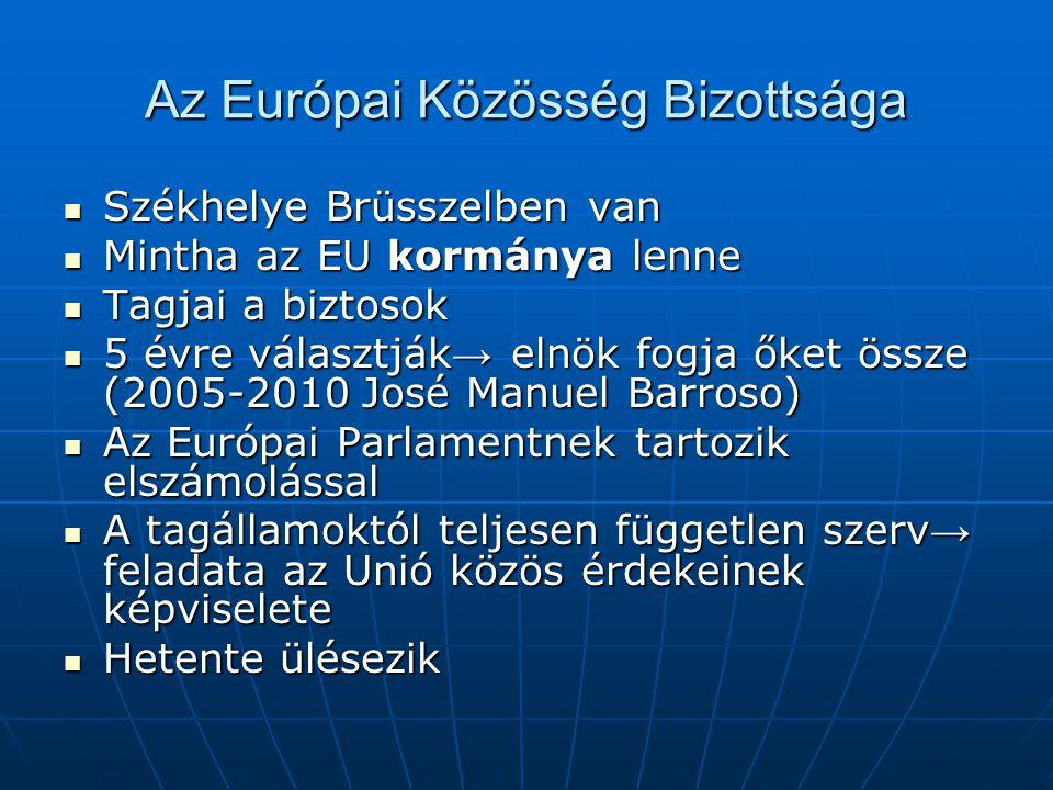 Az Európai Közösség Bizottsága