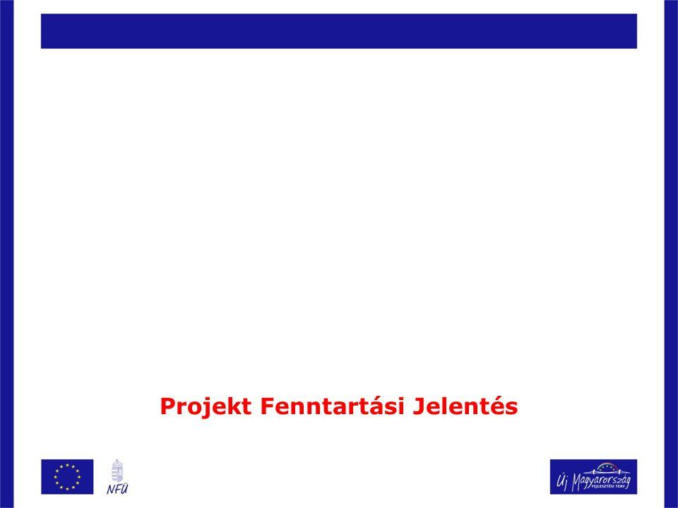 Projekt Fenntartási Jelentés