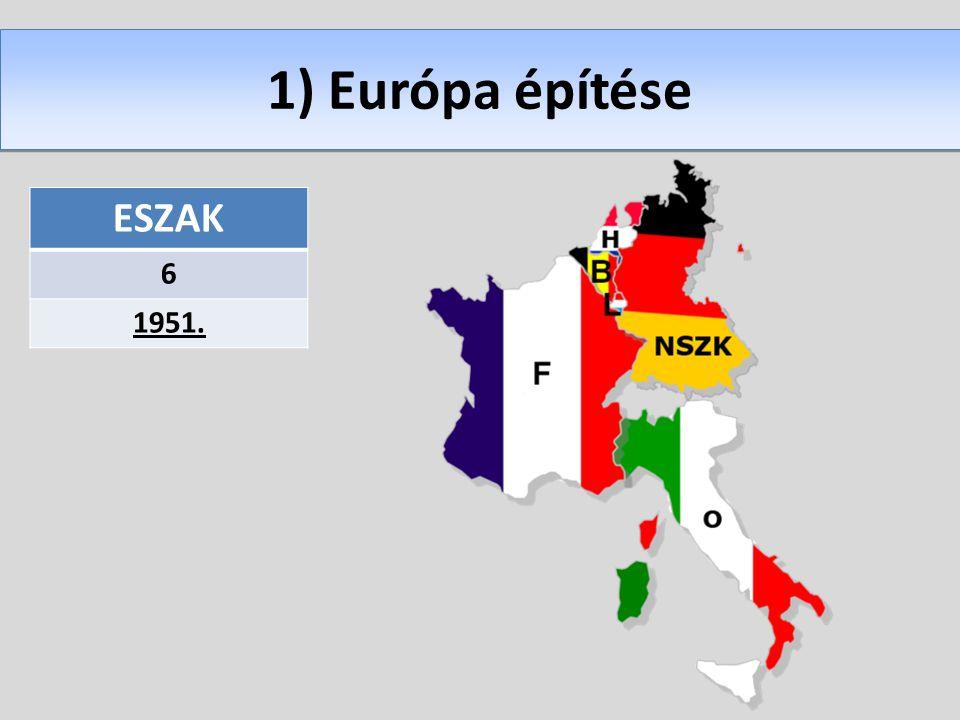1) Európa építése ESZAK 6 1951.