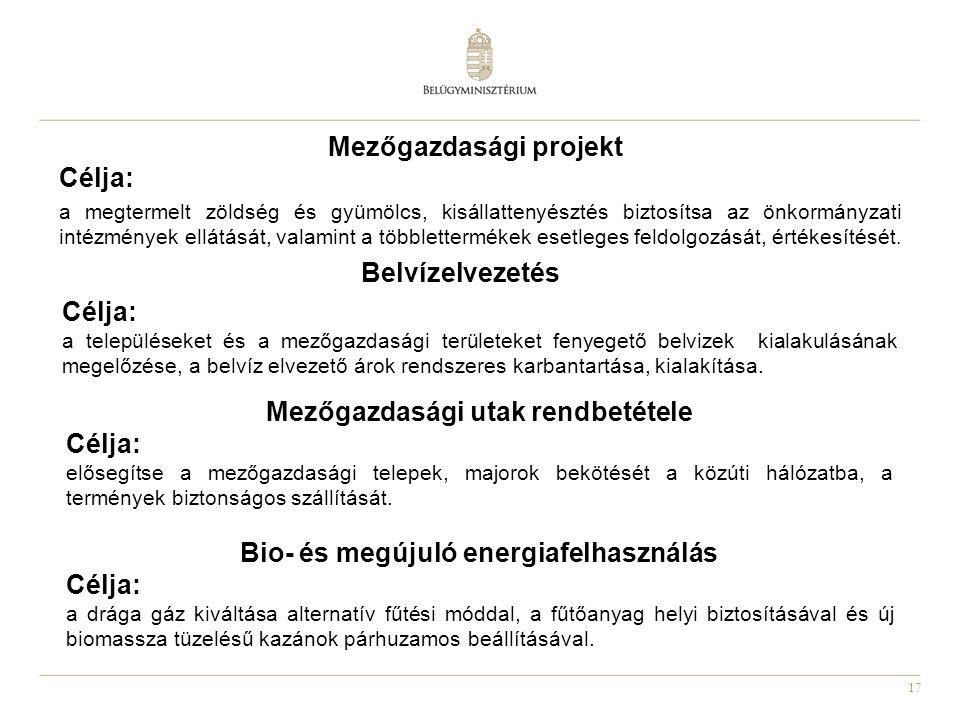 Mezőgazdasági projekt