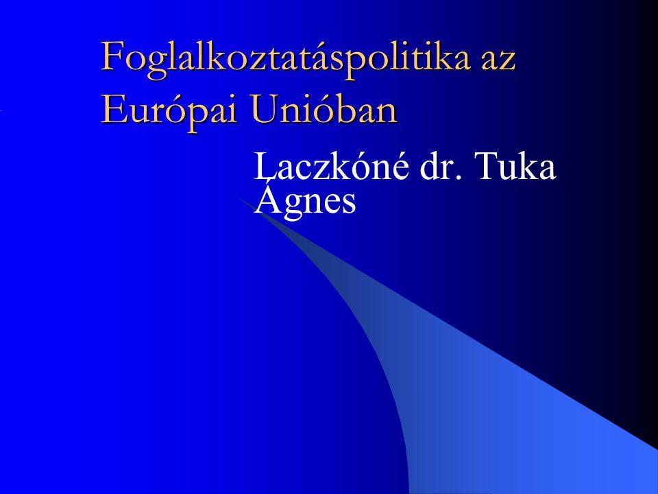 Foglalkoztatáspolitika az Európai Unióban