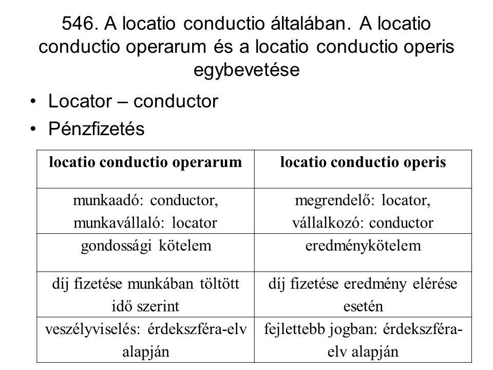 locatio conductio operarum locatio conductio operis