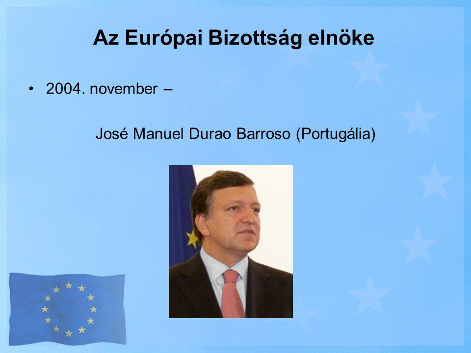 Az Európai Bizottság elnöke