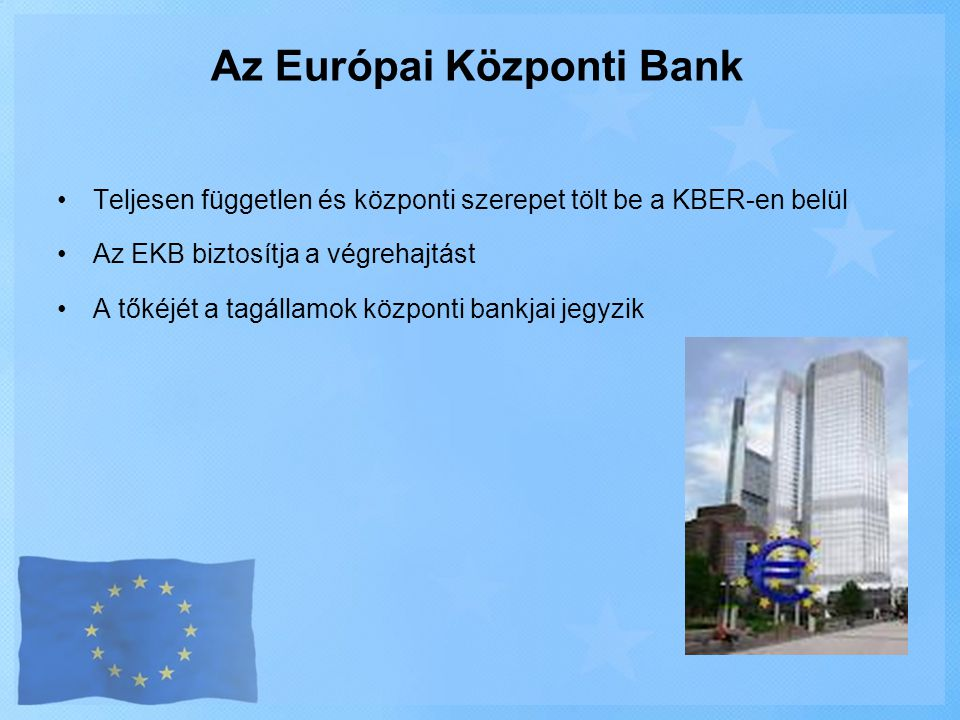 Az Európai Központi Bank