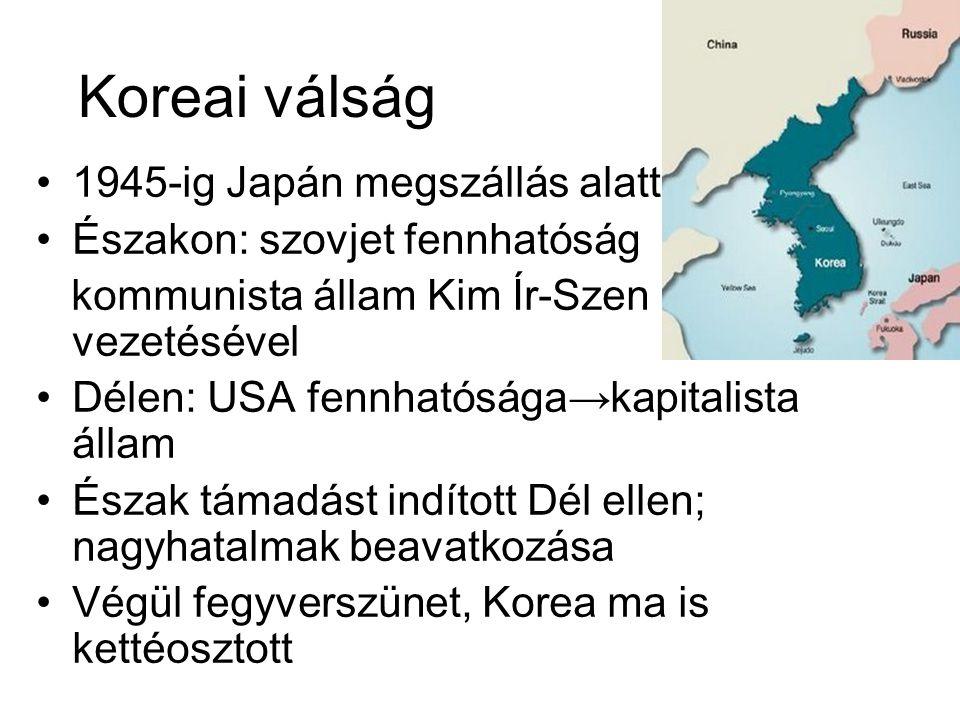 Koreai válság 1945-ig Japán megszállás alatt