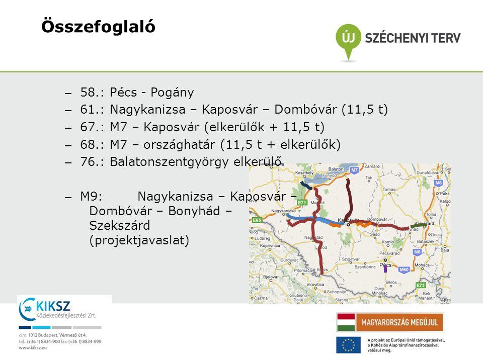 Összefoglaló 58.: Pécs - Pogány