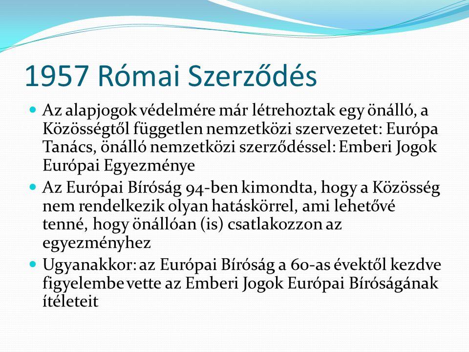 1957 Római Szerződés