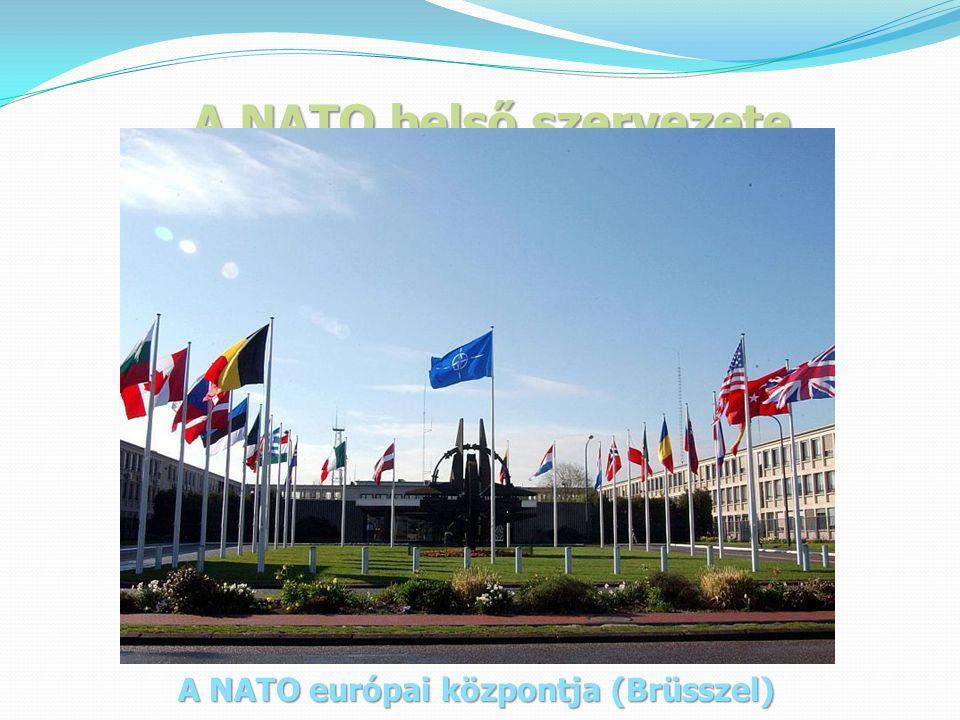 A NATO belső szervezete