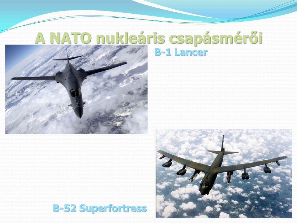 A NATO nukleáris csapásmérői