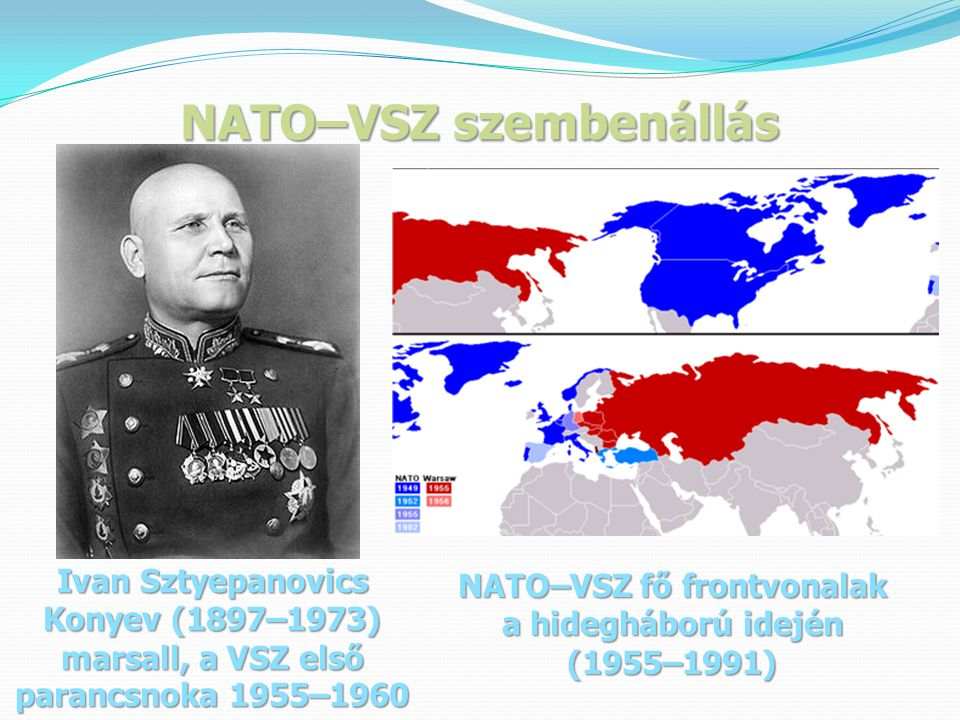 NATO–VSZ szembenállás