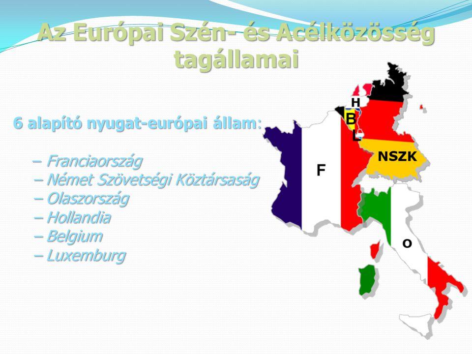 Az Európai Szén- és Acélközösség tagállamai
