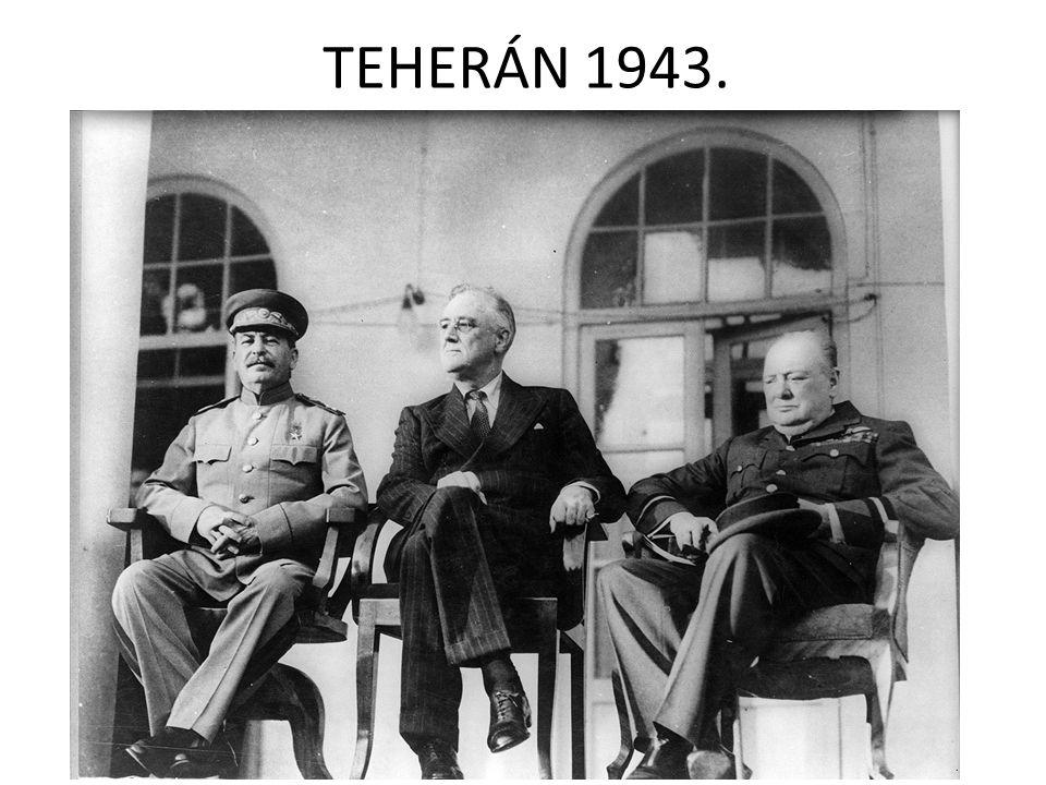 TEHERÁN 1943.