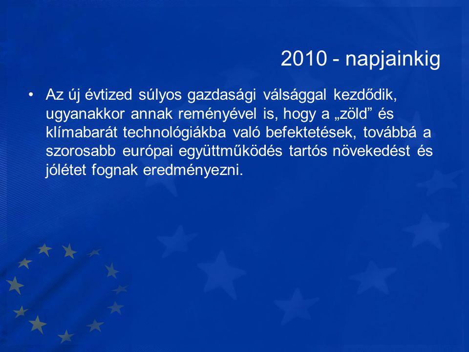 2010 - napjainkig