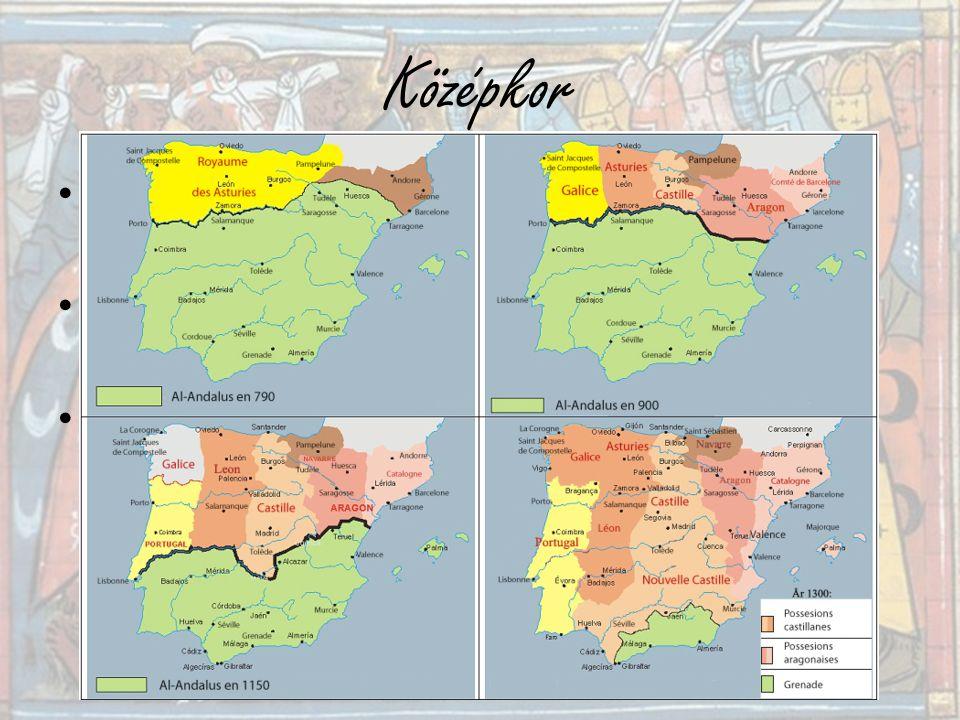 Középkor Keresztes hadjáratok Reconquista 100 éves háború