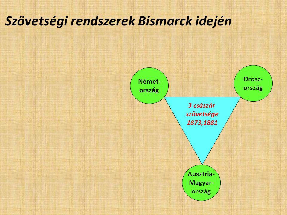 Szövetségi rendszerek Bismarck idején