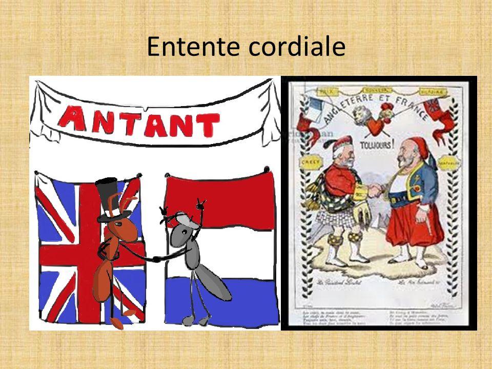 Entente cordiale Előzmények: 1904 Szívélyes megegyezés megszületése