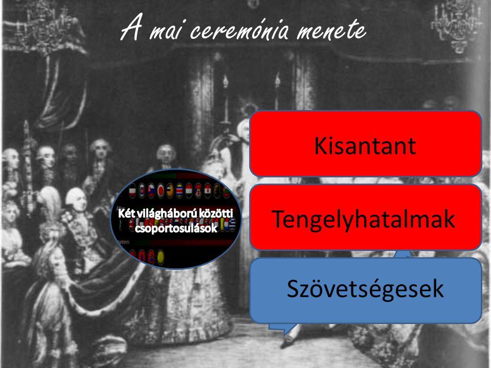 Két világháború közötti csoportosulások