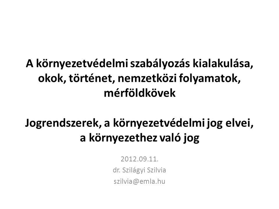 2012.09.11. dr. Szilágyi Szilvia szilvia@emla.hu